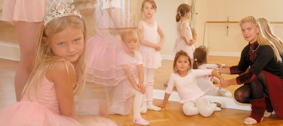 Ballettgruppe Kinder