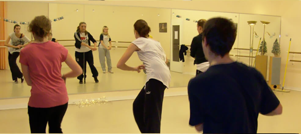 Training Jazzdance